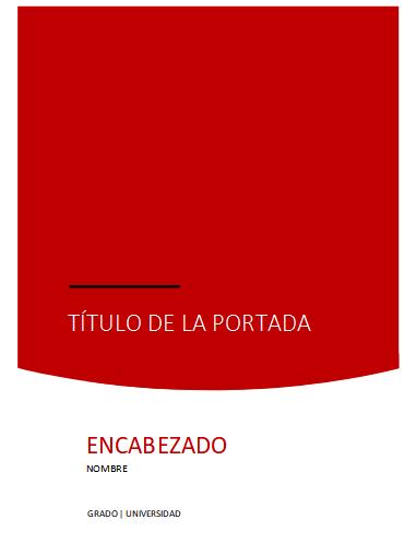 Portada Word formal 5