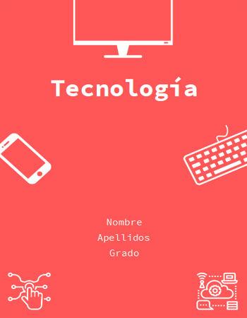 Portada Tecnología roja