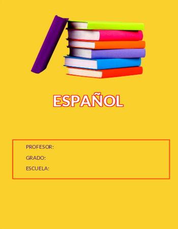 Portada de Español 10