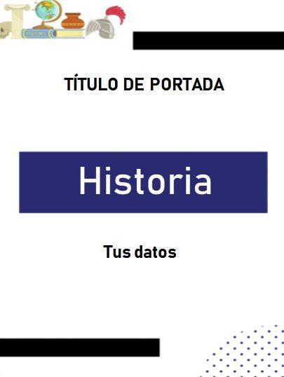 Portada Historia 6