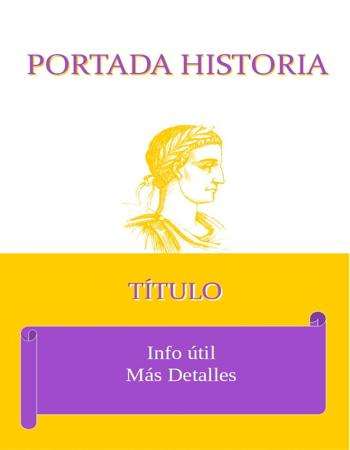 Portada de Historia amarillo emperador