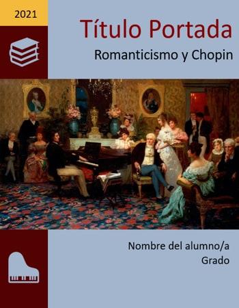 Portada de Historia Romanticismo Chopin